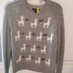 J. Crew Llama Sweater